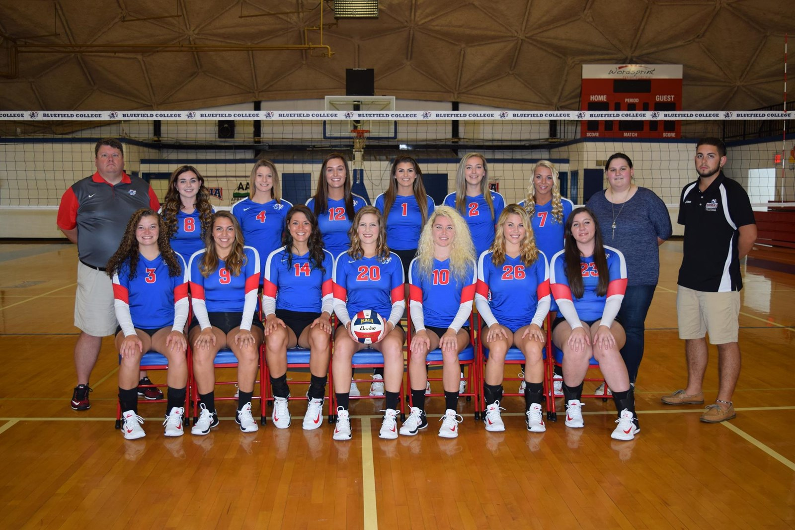 2017 Women S Volleyball Roster Bluefield College Athletics