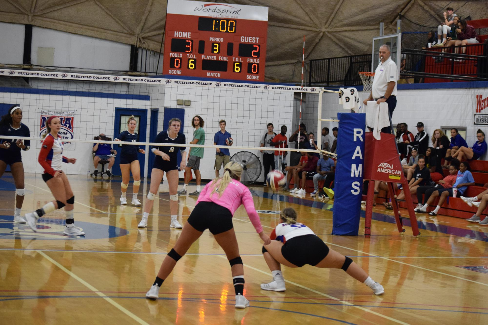Volleyball Sweeps Ciu For Second Straight Win Bluefield College Athletics